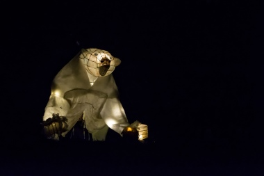 Velká medvědice na Svátku světel v Roztokách / foto Jakub Souček